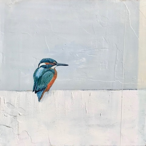 Jane Skingley, Kingfisher, 2019