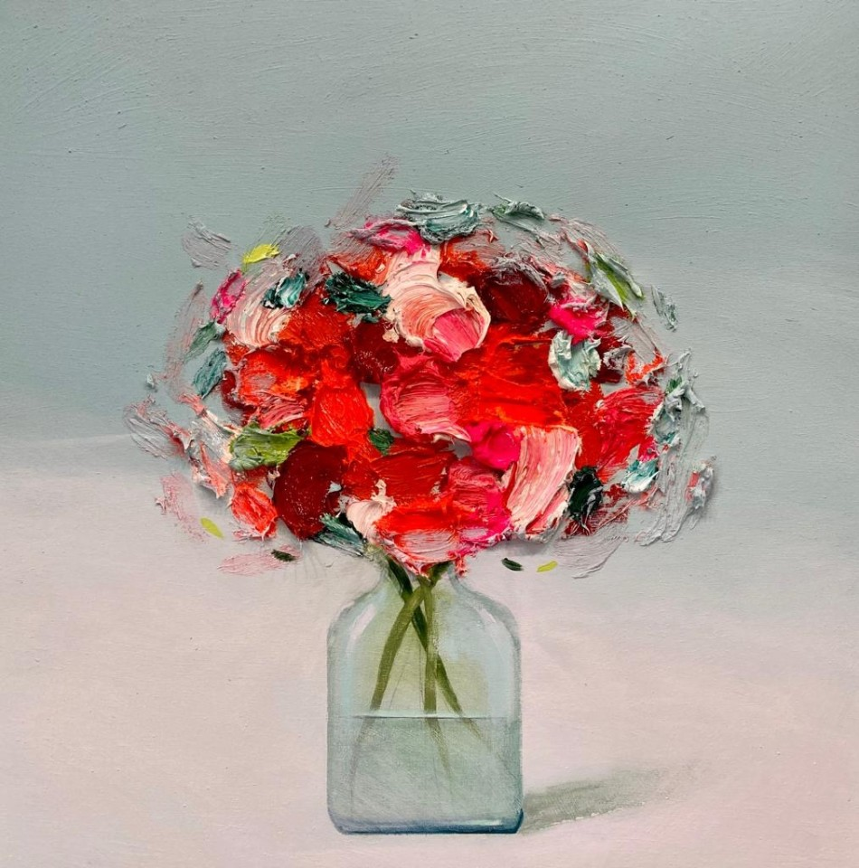 Fran Mora, Small Red Flowers, 2020