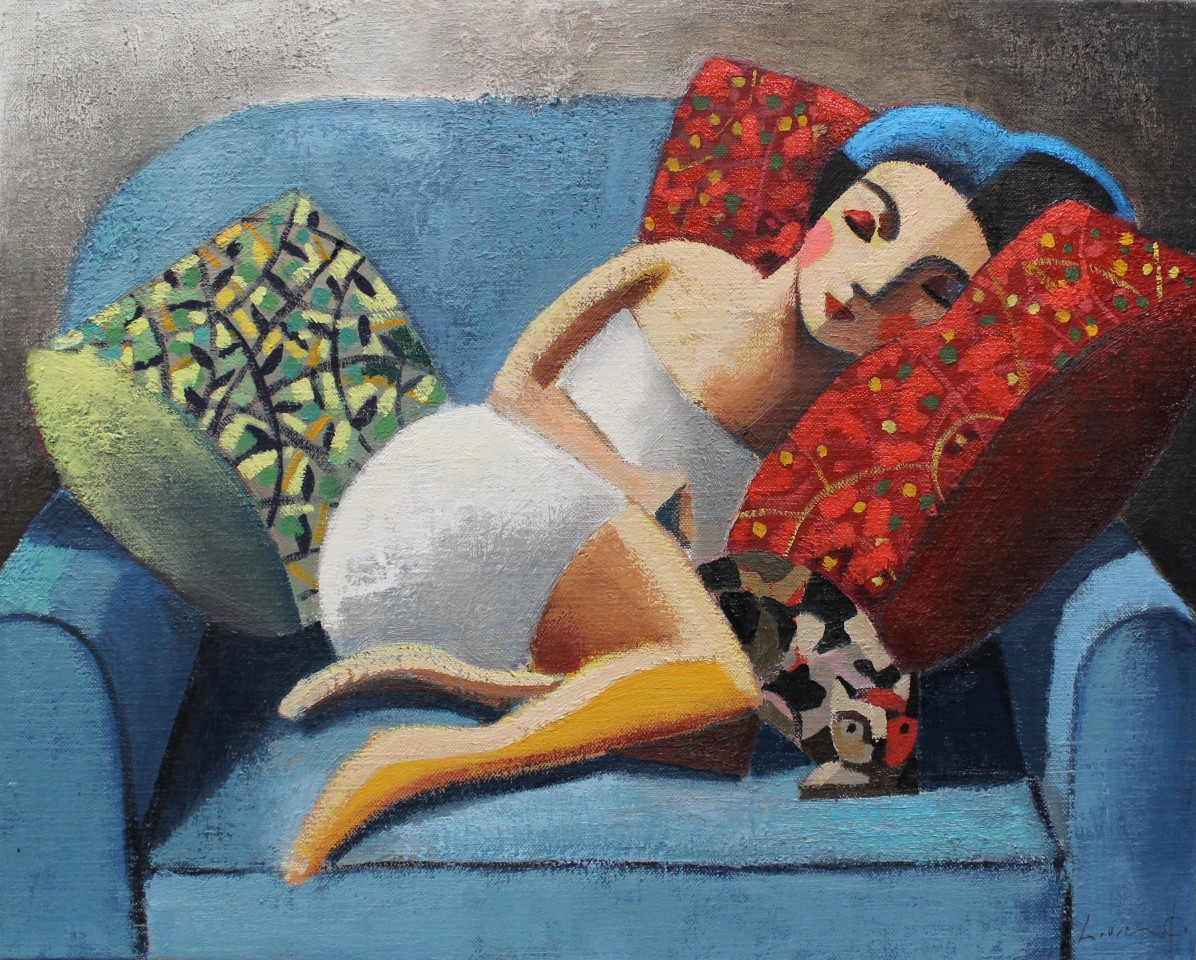 Didier Lourenço, In The Blue, 2019
