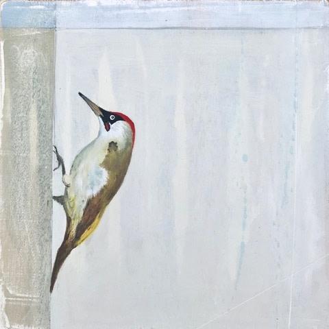 Jane Skingley, Green Woodpecker, 2019