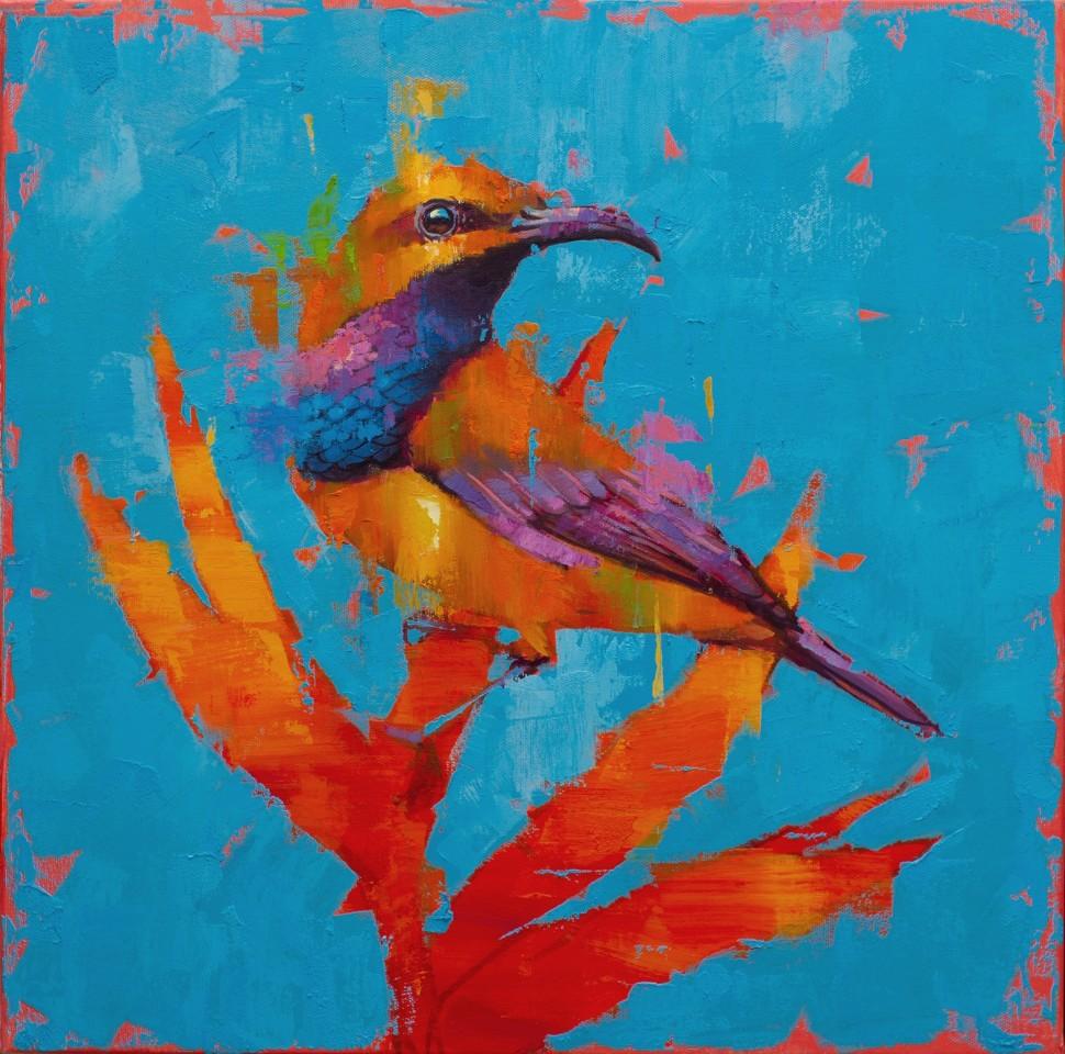 Jamel Akib, Olive Backed Sunbird No.2, 2021