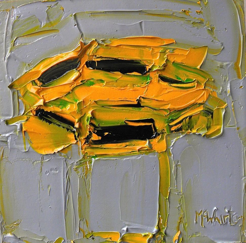Alison McWhirter, Sunflowers against Slate Grey, 2019