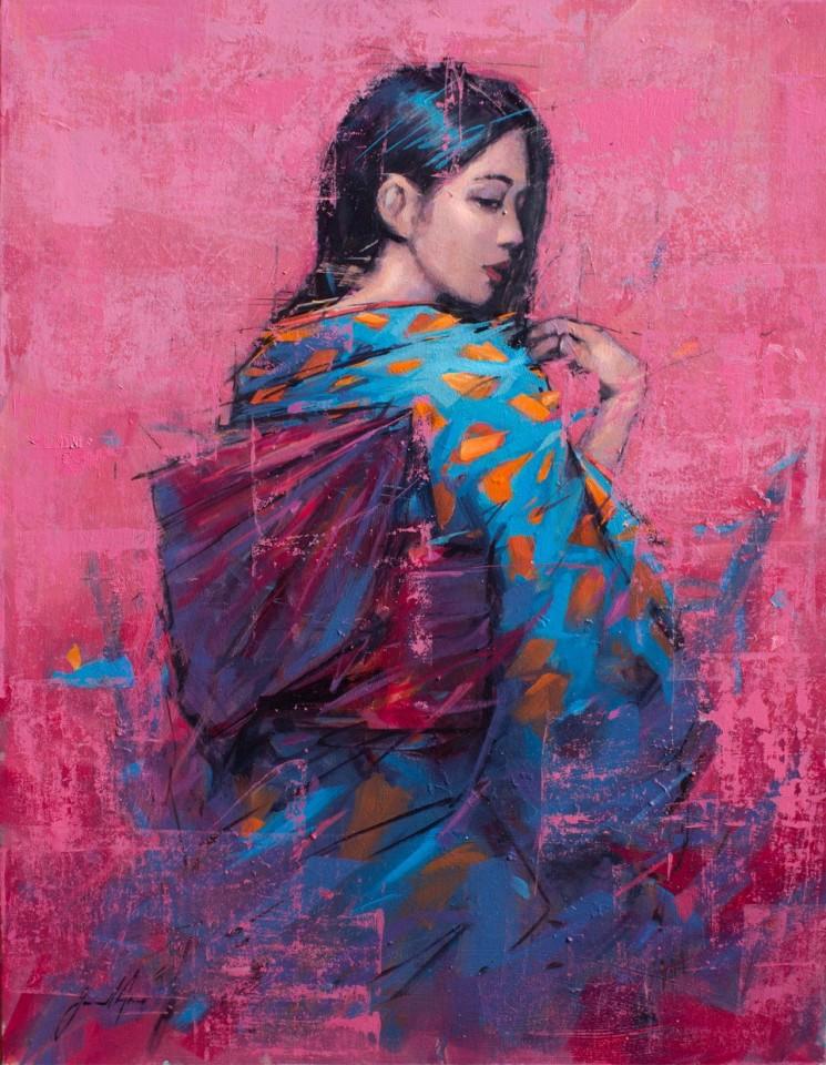Jamel Akib, Kimono 1, 2018