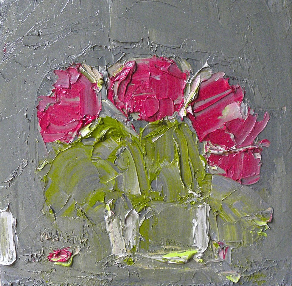 Alison McWhirter, Peonies After The Rain, 2019