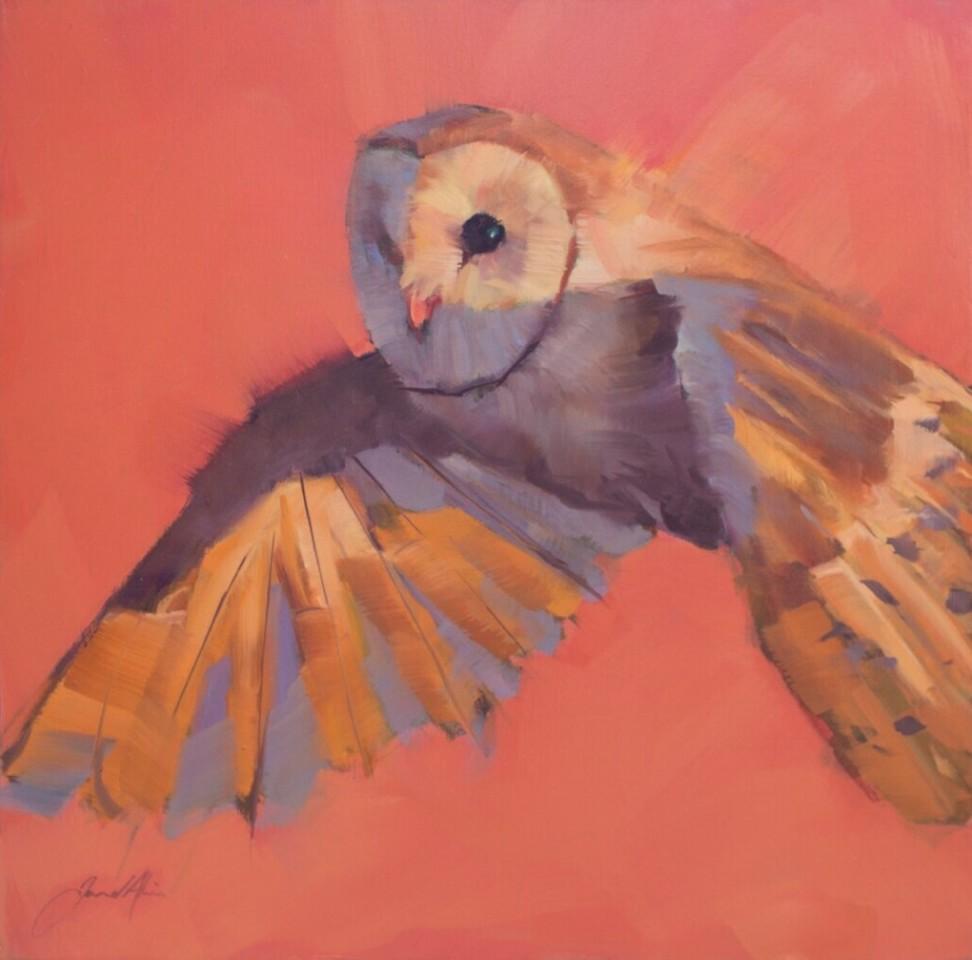 Jamel Akib, Flying Owl, 2018