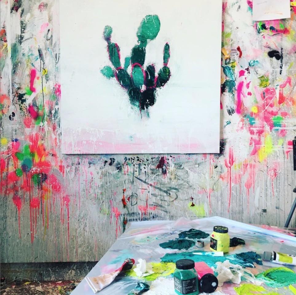 Fran Mora, Cactus No.2, 2019