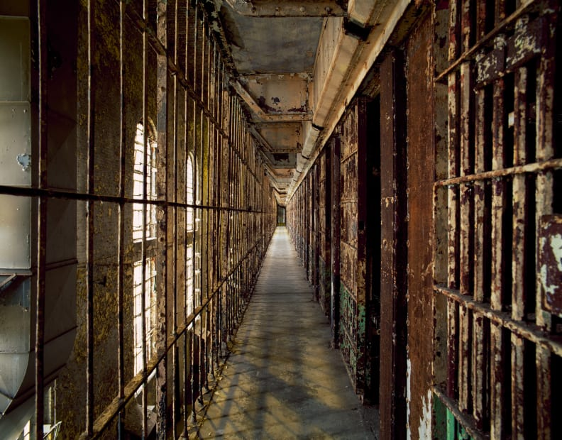 Cell Block, Mansfield State Reformatory, Mansfield, OH No 15 , 2011