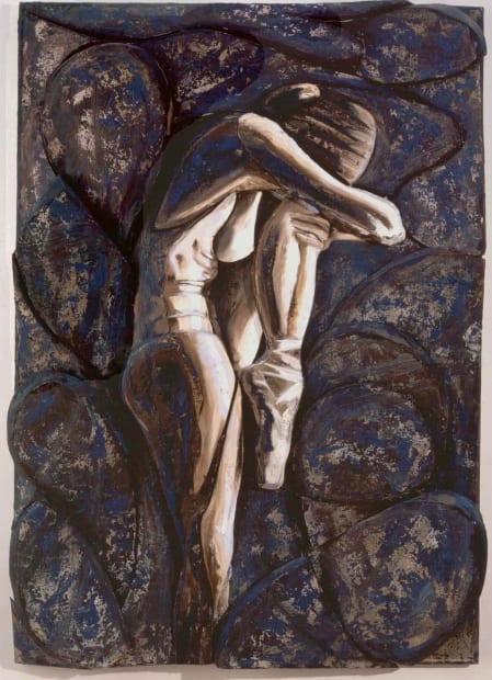 Ballet, original painting 1998