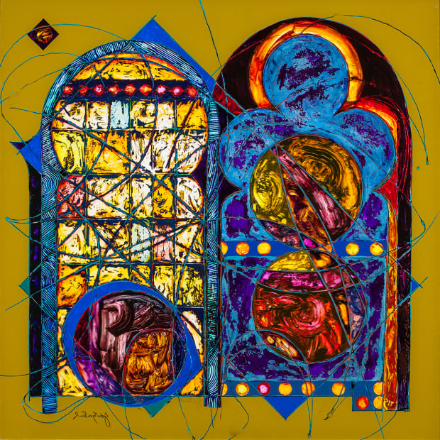 Double Window 3, 2013