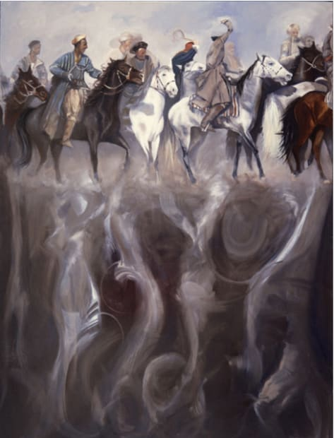 Afghan Horsemen, 1987