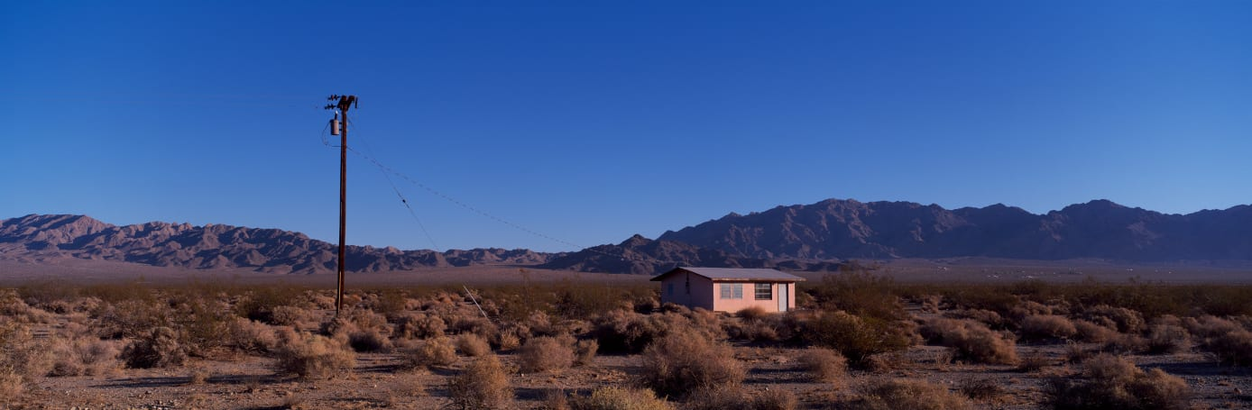 House, Wonder Valley, Mojave Desert, CA, #59, 2009
