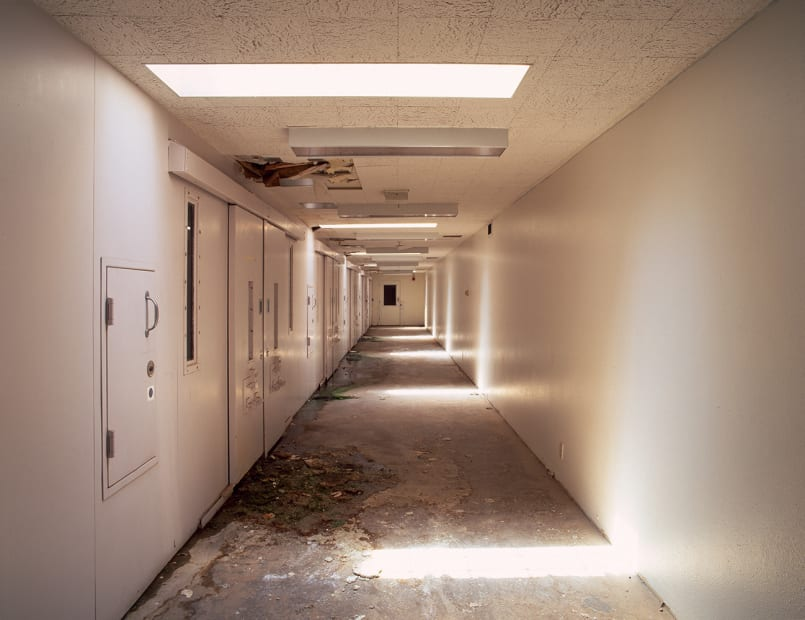 Psychiatric Ward, Penitentiary New Mexico, Santa Fe, NM, #3, 2009