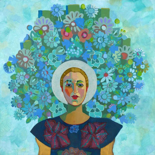 Reina De Las Flores Azules No4 On My Mind