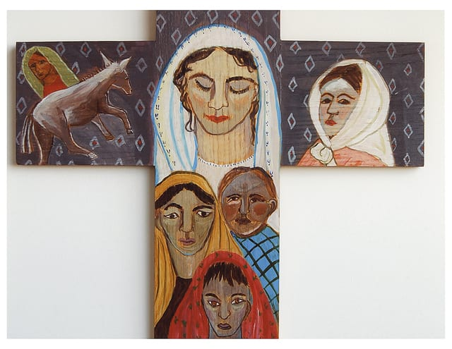Afghan Family Cross, 2006