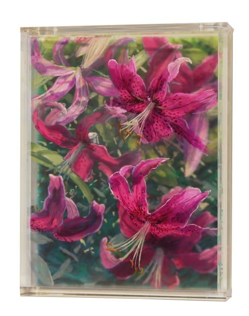 Oriental Lilies, 2 Years, 2019