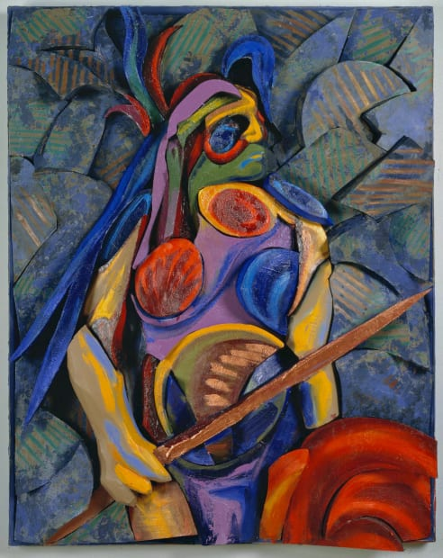 Warrior, original painting 1998