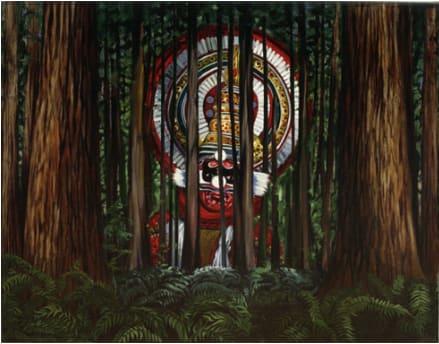 Woodland Deity, 1995