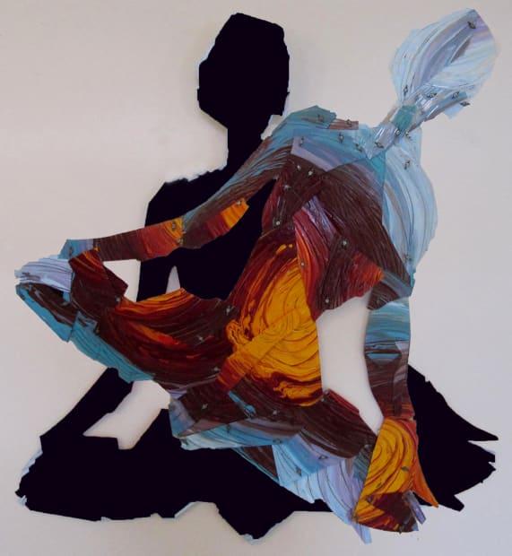 First Meditation Angled Black, 2020
