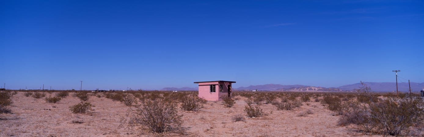 House, Wonder Valley, Mojave Desert, CA, #50, 2009