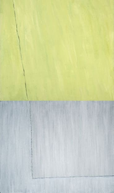 Grey and Green Couple, 2011