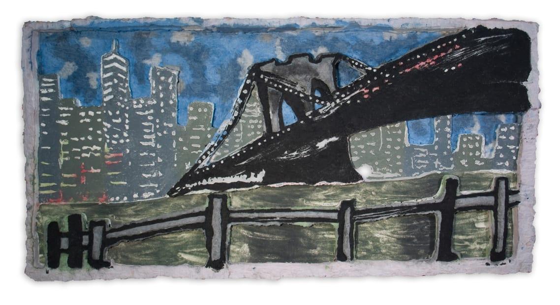 View of the Bridge at Night, 2019