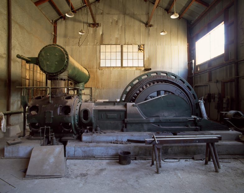 Compressor, Caselton, NV No 1, 2007