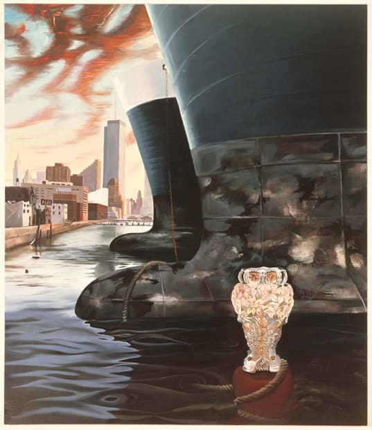 Vessels, original painting 1988