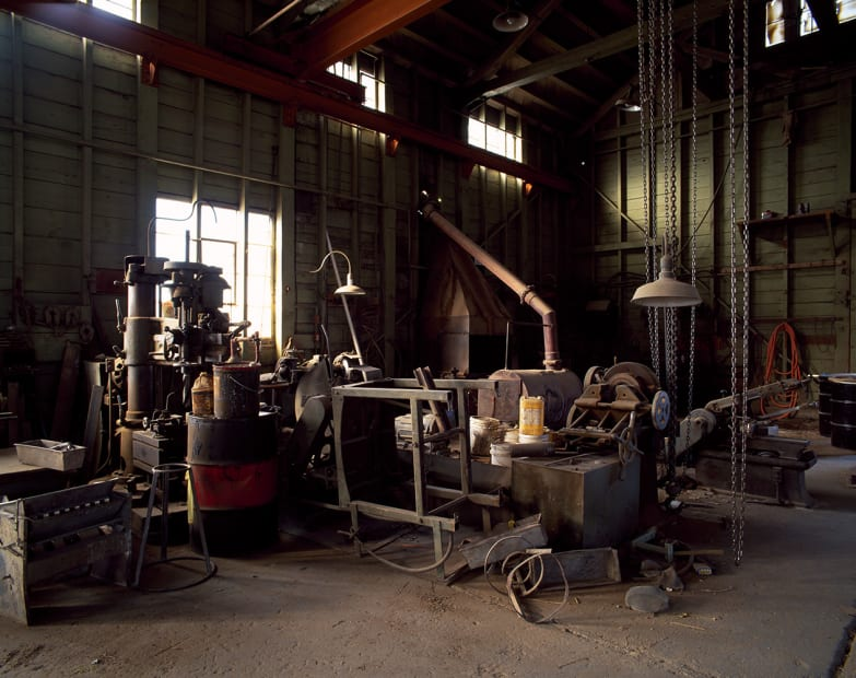 Machine Shop, Eureka NV, #6, 2008