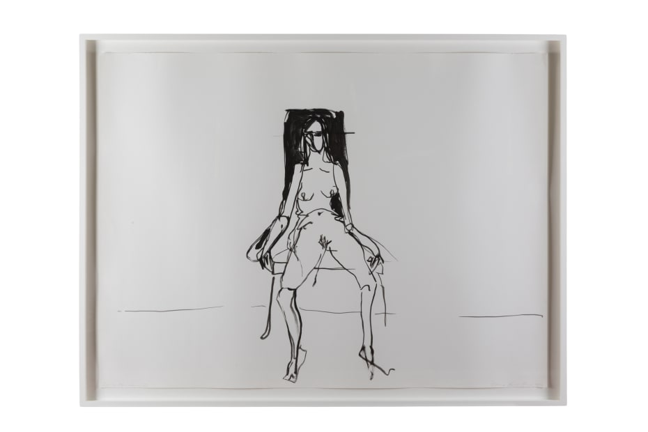 Tracey Emin, Lonely Chair drawing II, 2012