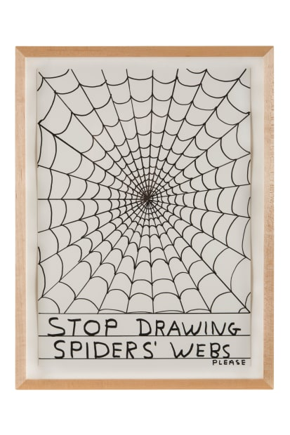 David Shrigley, Untitled (Stop drawing...), 2013