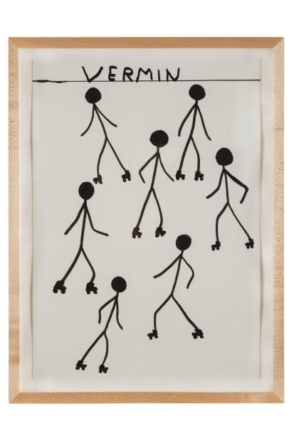 David Shrigley, Untitled (Vermin), 2013