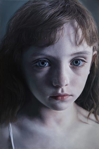 Gottfried Helnwein, Head of a Child 15 (Molly), 2012
