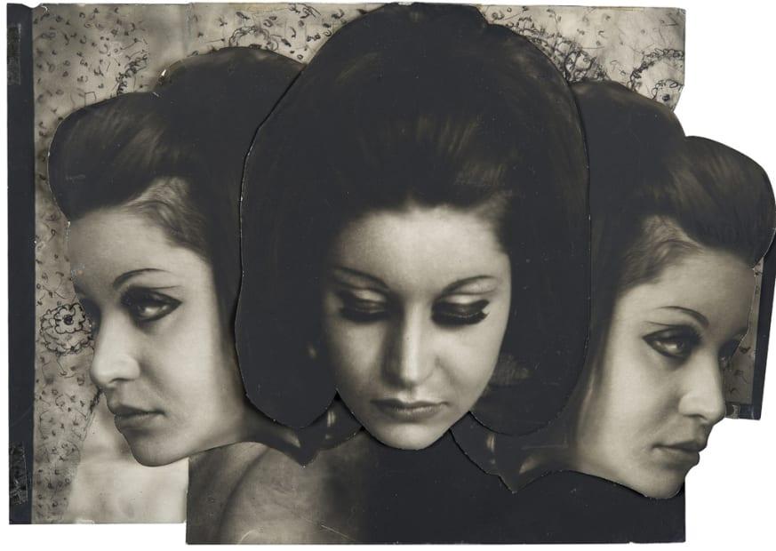 Pierre Molinier, Les Hanel 1 - Collage original, 1969