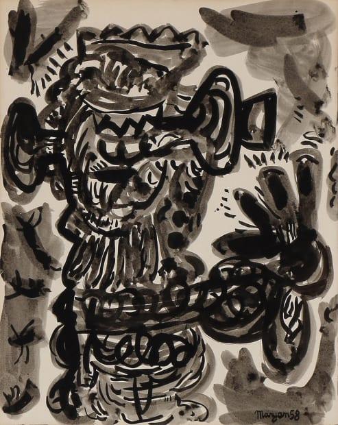 Sans titre, 1958