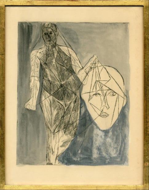 Salomé et la tête de Jean, 1958