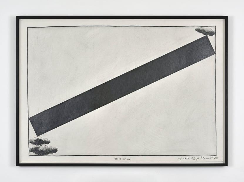 Keiji Uematsu, Three stones, July 1979