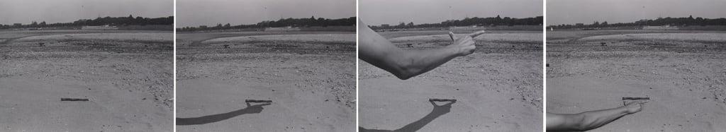 Measuring - Landscape II, 1976