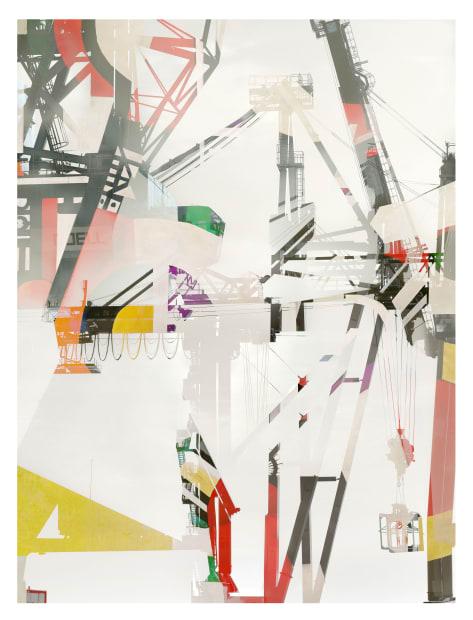 """Stéphane Couturier, Série """"Les nouveaux Constructeurs"""" Sète - Port de Commerce n° 4, 2018"""
