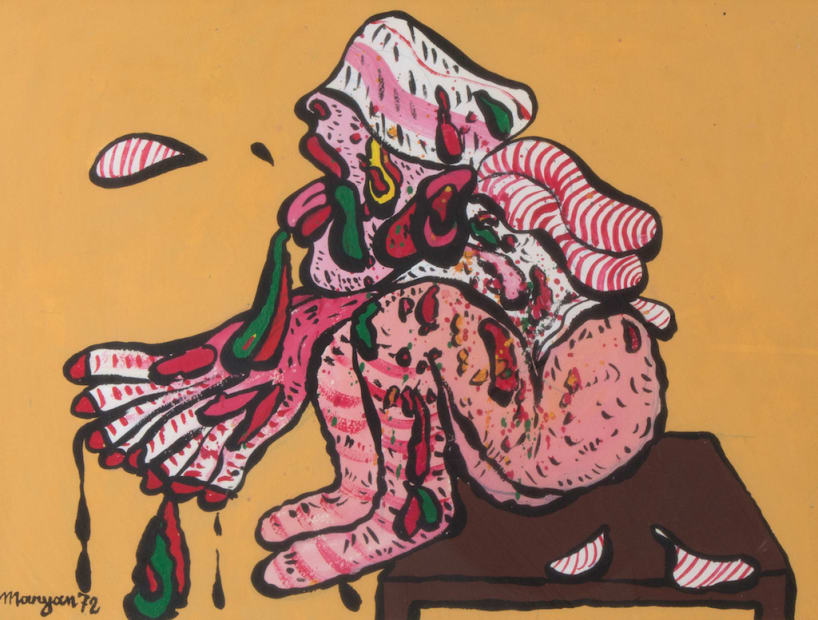 Maryan, Sans titre, 1972