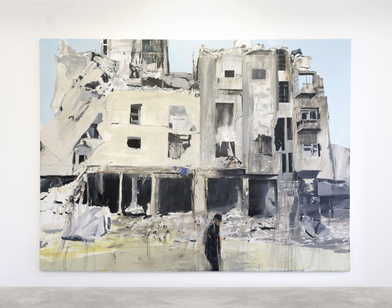 Brian MAGUIRE, Aleppo 5, 2017