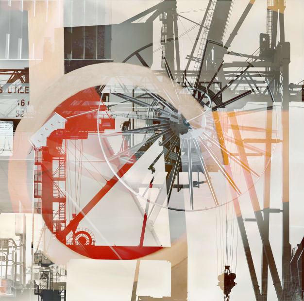 """Stéphane Couturier, Série """"Les nouveaux Constructeurs"""" Sète - Port de Commerce n° 7, 2018"""