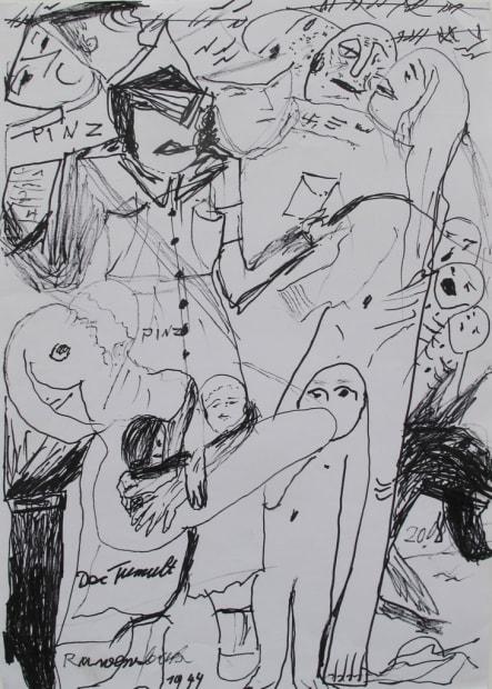 Le tumulte, 1944. (Ravensbruck, ref 865), 2008