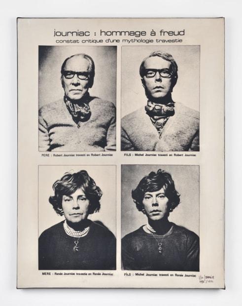 Hommage à Freud - Constat critique d'une mythologie travestie, 1972