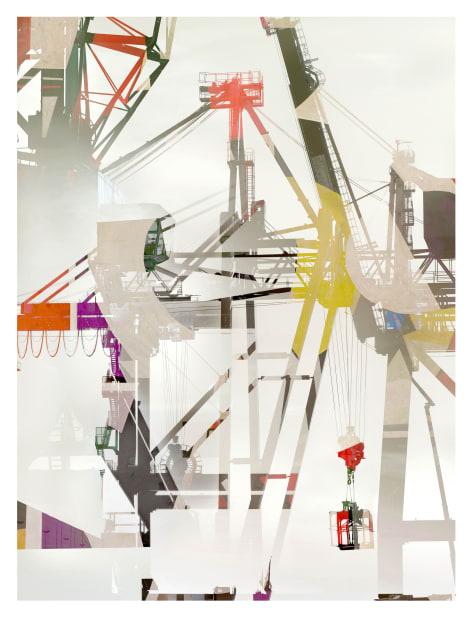 """Stéphane Couturier, Série """"Les nouveaux Constructeurs"""" Sète - Port de Commerce n° 2, 2018"""