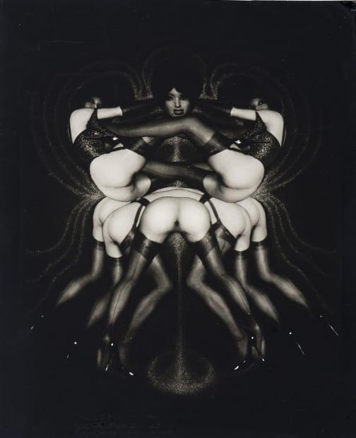 Pierre Molinier, Le triomphe des tribades ou Sur le pavois, 1969