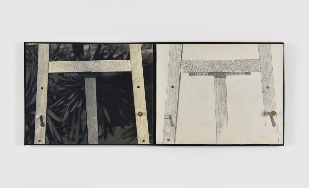 Masaki Nakayama, Two easels, 1973