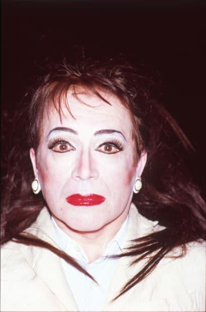 Autoportrait au regard effrayé, 18 avril 2012