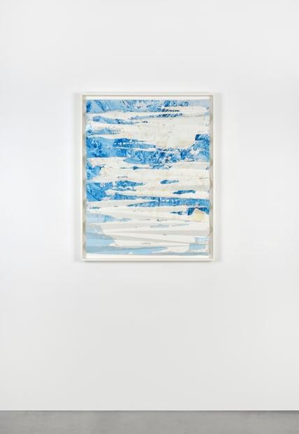 Letha Wilson, Rabbit Ears Pass Cement Fold (Single Dip), 2016