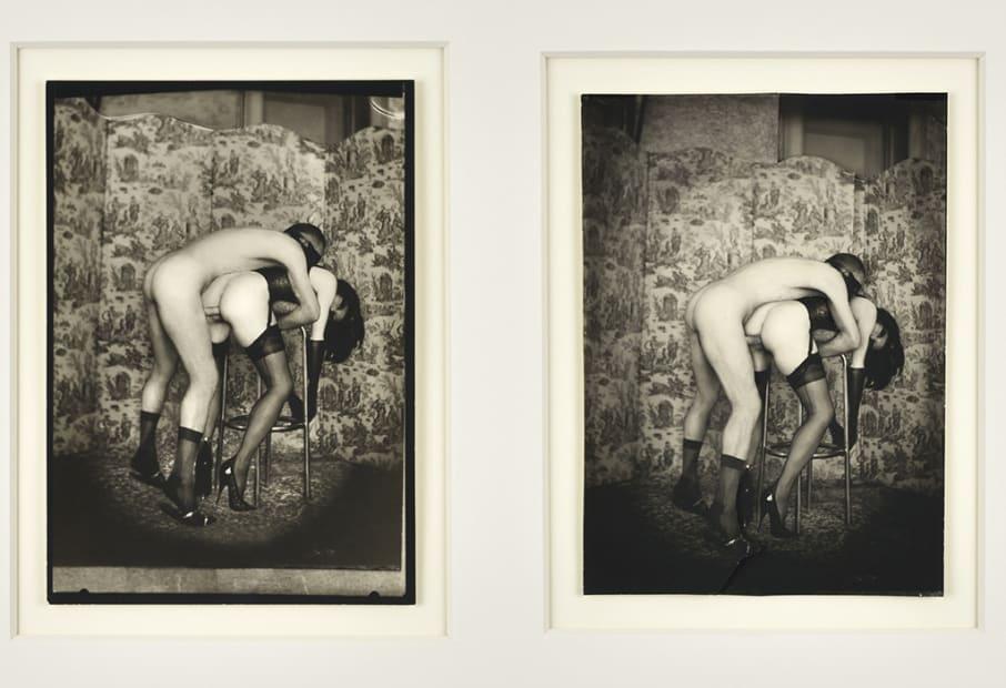 Pierre Molinier, Poupée violée / Double autoportrait in actum - Collage original finalisé, 1968