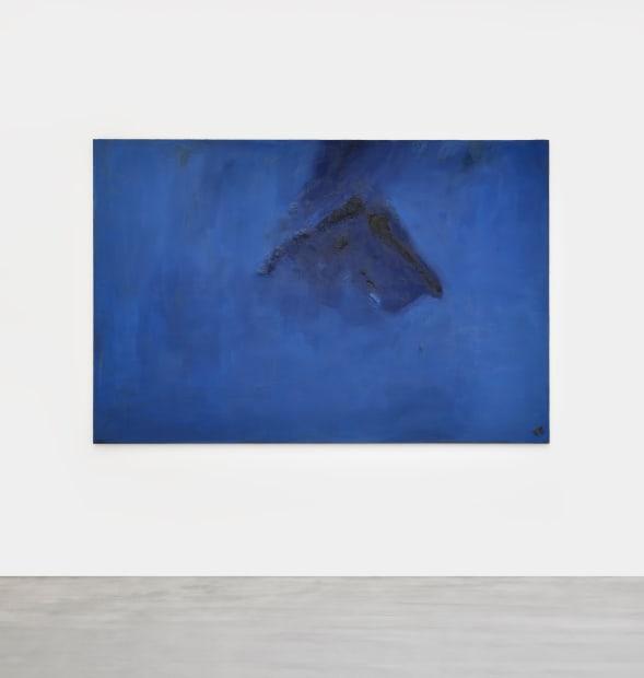 Pierre Tal Coat, Bleu surgi, 1974